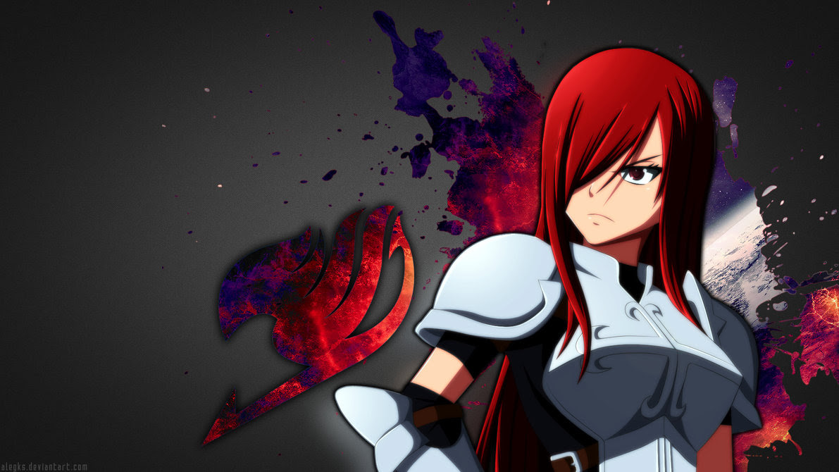 Erza Scarlet Fairy Tail Wallpaper Silver Wallpapers