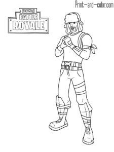 Fortnite Ghoul Trooper Coloring Pages | Fortnite Aimbot In ...
