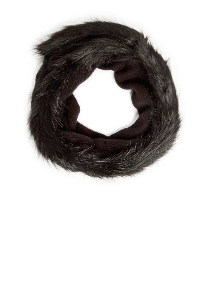 TOUCH - Faux fur edges snood