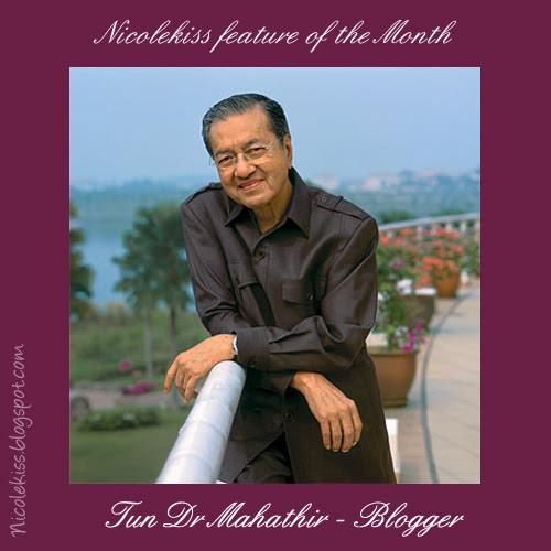 Blogger mahathir