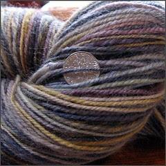 Josie yarn, closeup