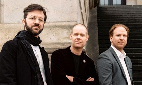André de Ridder, Max Richter and Daniel Hope