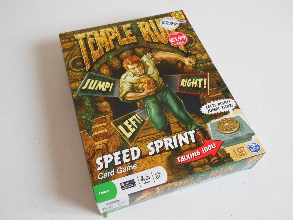 Temple Run: Speed Sprint box