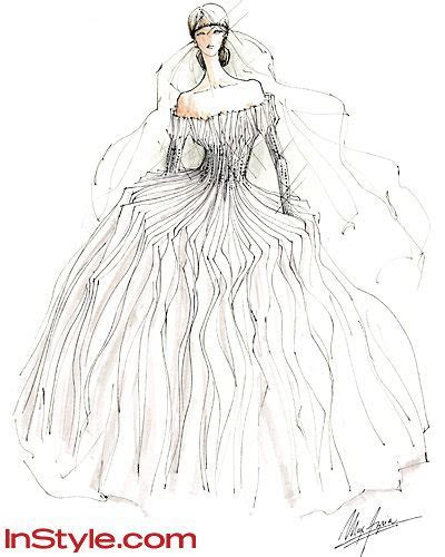 Fashion Designers Sketch Kate Middleton's Wedding Dress
