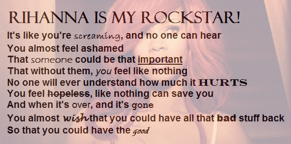 Quotes Rihanna Rockstar We Found Love Image 416863 On Favimcom