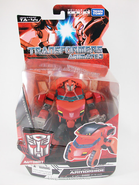 Transformers Ironhide Animated Deluxe Takara - caja