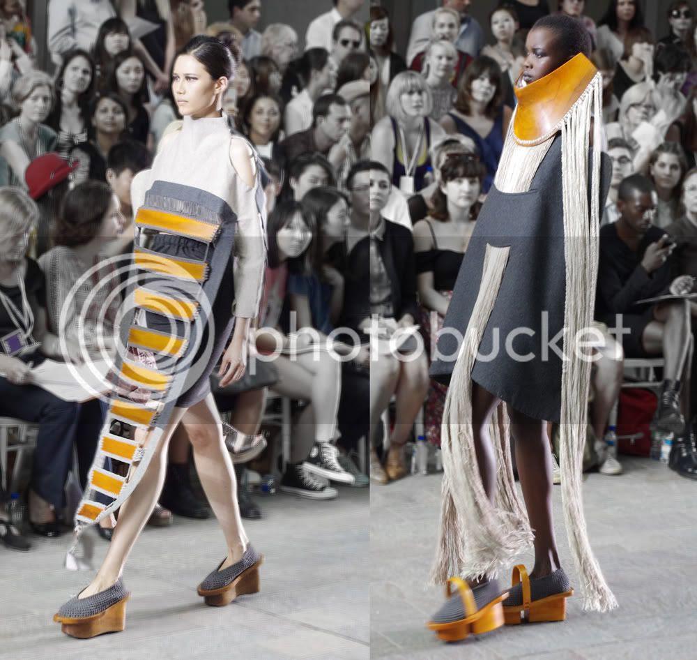 C.J. Yao (Fashion Womenswear) CSM BA Press Show
