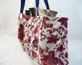 Grocery Tote from Upcycled Fabric