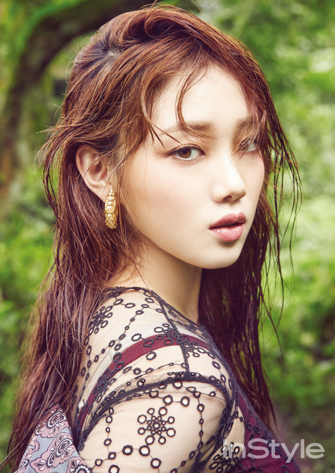 Lee Sung Kyung - InStyle Magazine October Issue '16