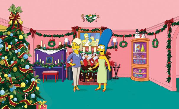 Marge escreve uma carta para Martha Stewart pedindo ajuda (Foto: Twentieth Century Fox / Divulgação)