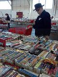 Big Book Sale, 09.20.2012 Shopper at Friends of the Public Library Big Book Sale.