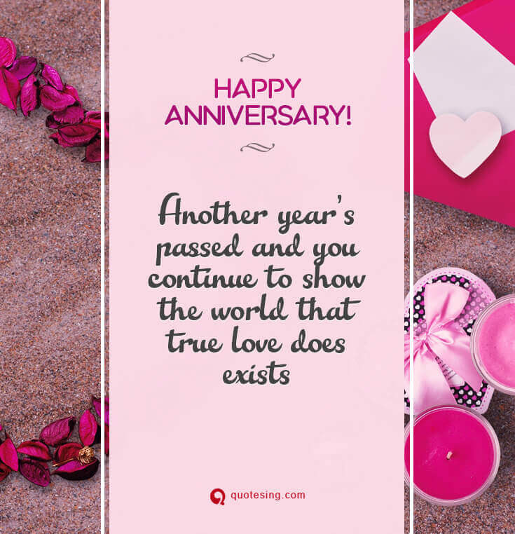 50 Happy Anniversary Quotes Messages And Wishes Pictures Quotesing