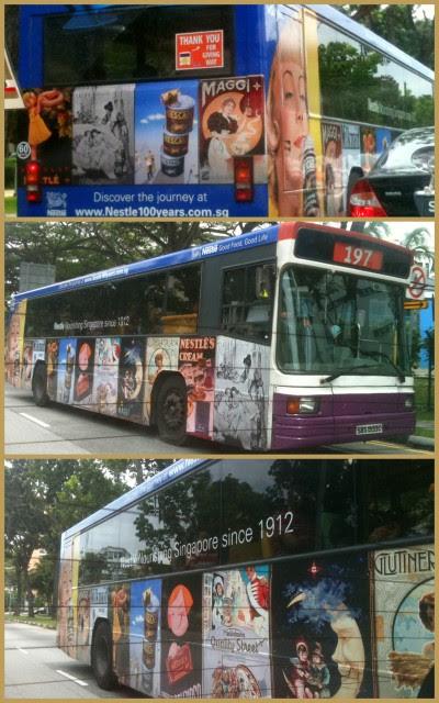 Nestle Bus Ad