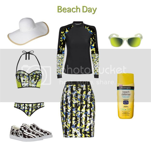 Peter Pilotto for Target lookbook - beach day