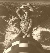 Riding the bomb in Dr. Strangelove