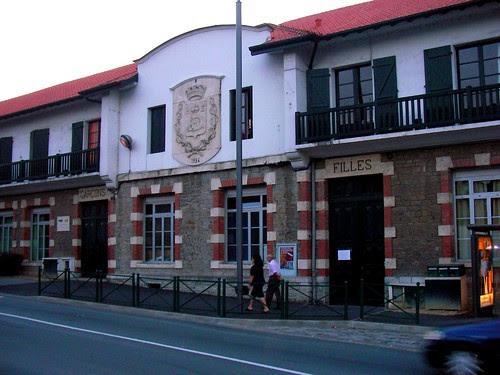 Escuela en Hendaye