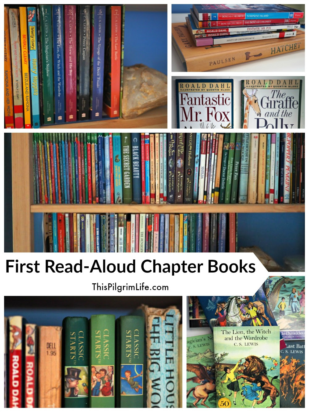 Image result for Great Read Alouds chapter books