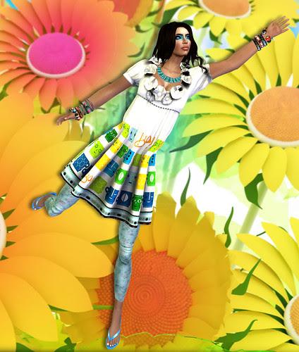 !gO! Vintage Girl Dress full view