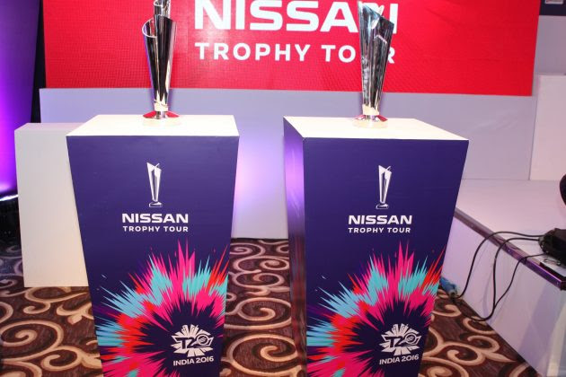 ICC World Twenty20 trophy departs on global journey on Sunday - Cricket News