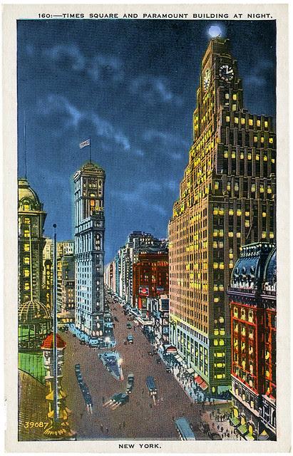 Times Square at night_tatteredandlost