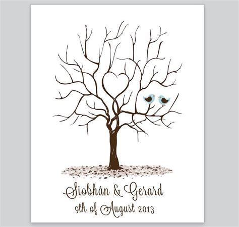 Fingerprint Tree   Design 4   Loving Invitations