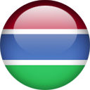 Button-like image of country described in filename