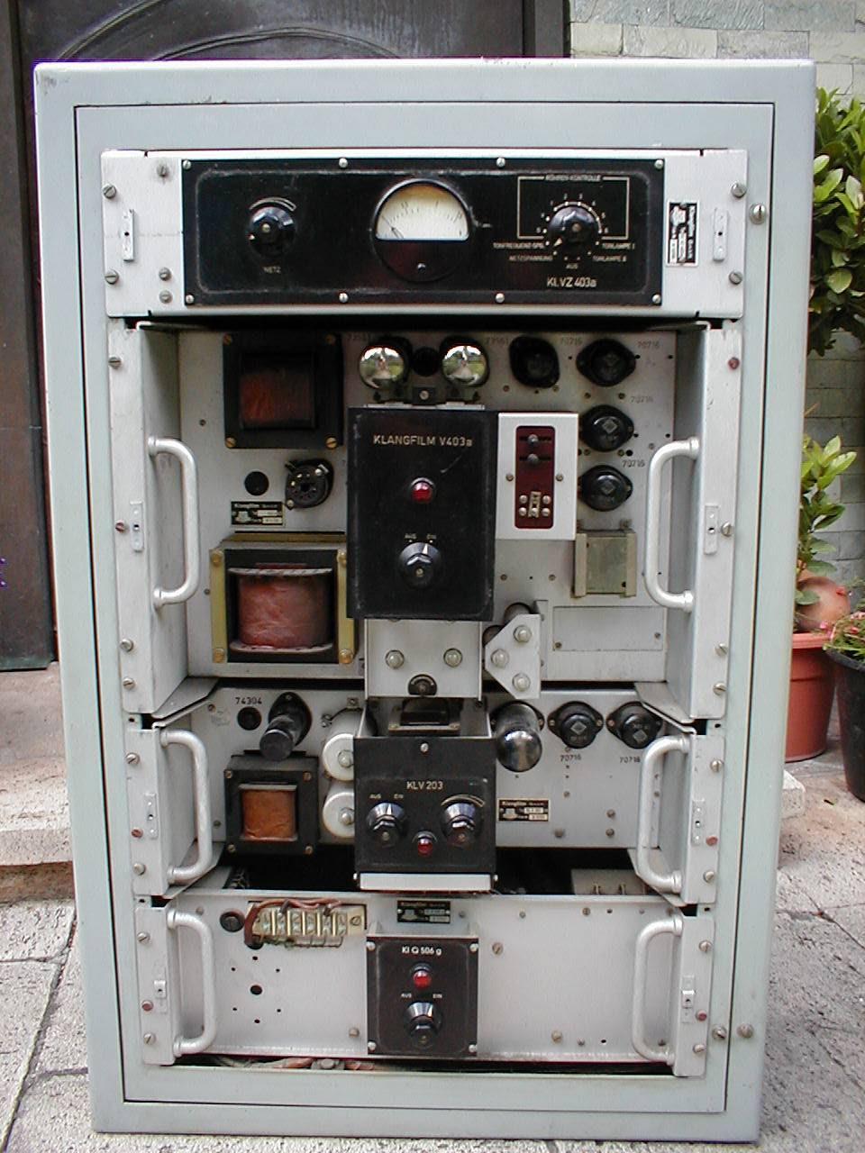 Risultati immagini per amplificatori klangfilm
