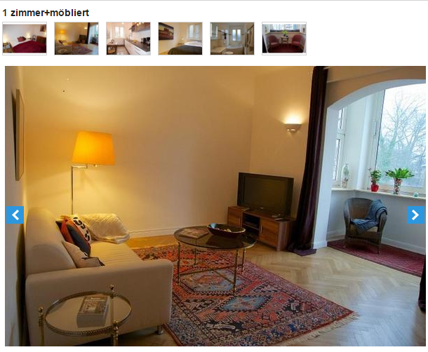 1 zimmer m bliert hamburg rotherbaum bornstra e 20. Black Bedroom Furniture Sets. Home Design Ideas