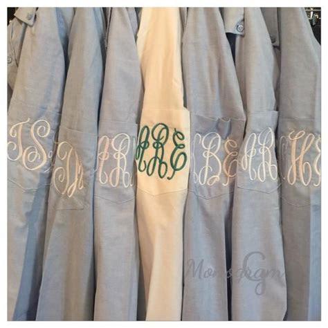 Monogrammed Shirt/ Monogrammed Oxford/ Monogrammed Button