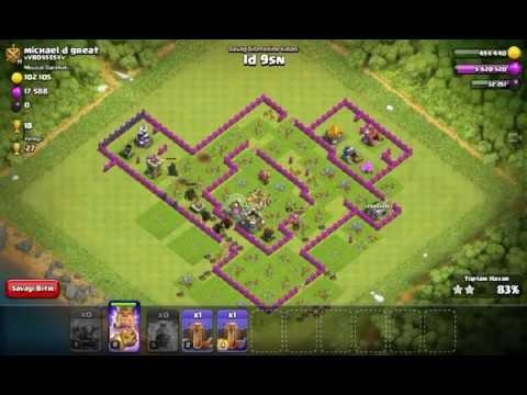 Clash of Clans'da 8 Pekka İle Ölümcül Saldırı Yapmak