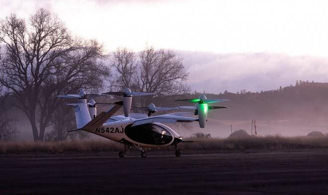 НАСА приступает к испытаниям электрического летающего такси Joby
