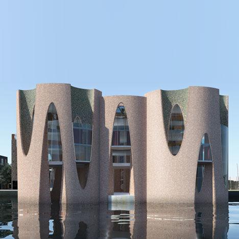 Kirk Kapital headquarters by Olafur Eliasson