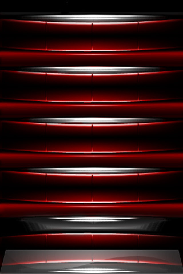 Red Black Abstract iPhone Wallpaper