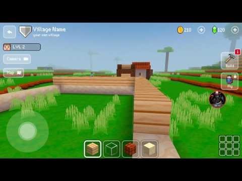 İlk Ev Projem  #1  Block Craft 3D Android Oyunu
