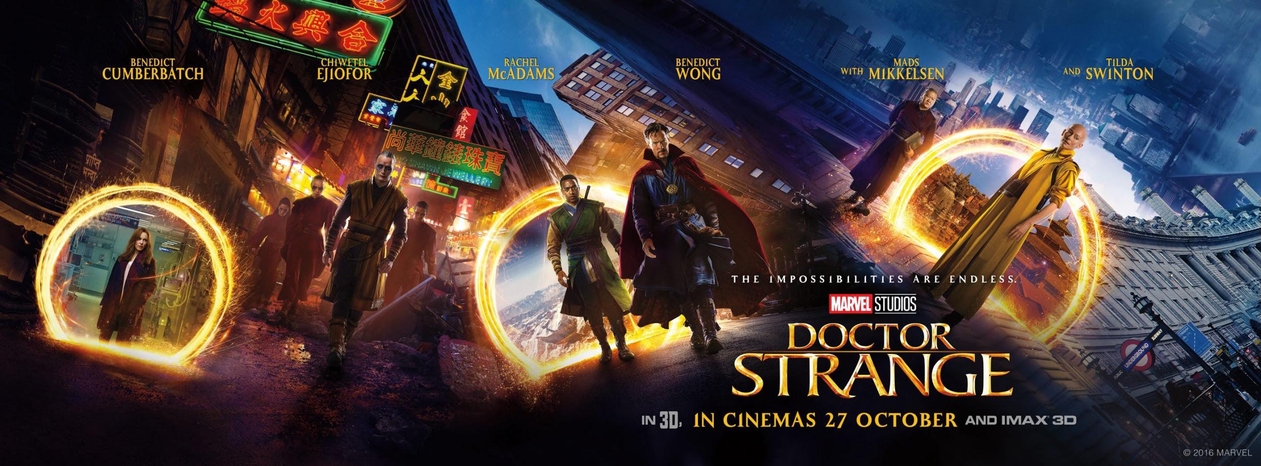 Resultado de imagem para Doctor Strange 2016 posters