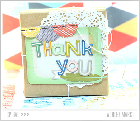 Crate Paper | Ashley Marcu | Thank You Package via The Open Road