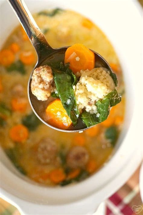 Easy Italian Wedding Soup Recipe · The Typical Mom
