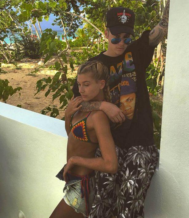 Justin Bieber and Hailey Baldwin on Instagram
