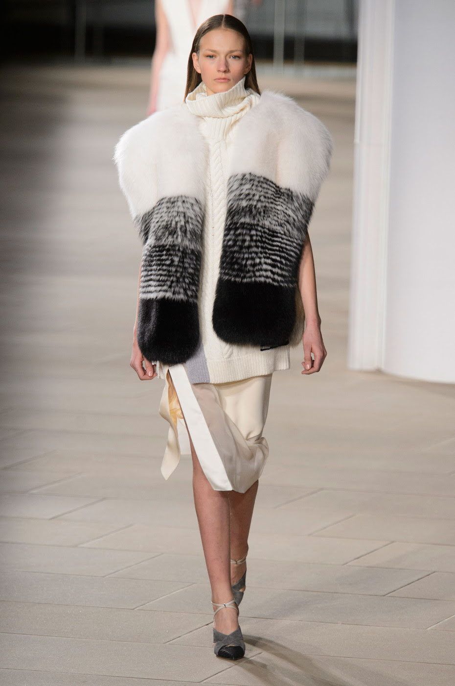 Fur Stoles are the Hottest Accessory Right Now
