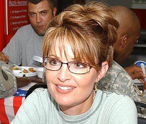 Camp Buehring, Kuwait - Alaska Governor Sarah ...
