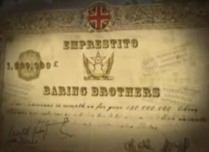 El empréstito (préstamo) del banco británico Baring Brothers