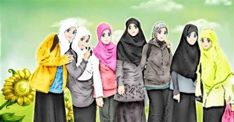 gambar animasi keren gambar kartun sekolah islami  anak