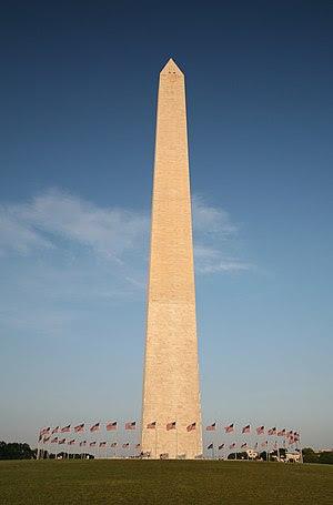 Washintgon Monument, Washington, D.C. Français...