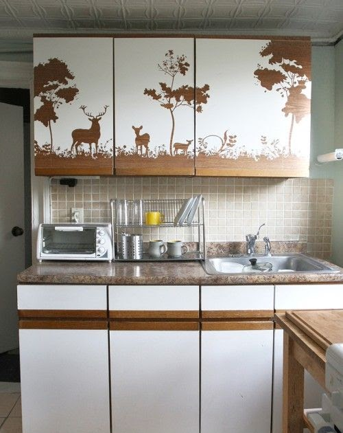 Temporary Wallpaper Kitchen Cabinets - Etexlasto Kitchen Ideas