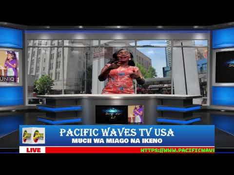 Shiru wa Gp visits Pacific Waves tv,Washington,USA