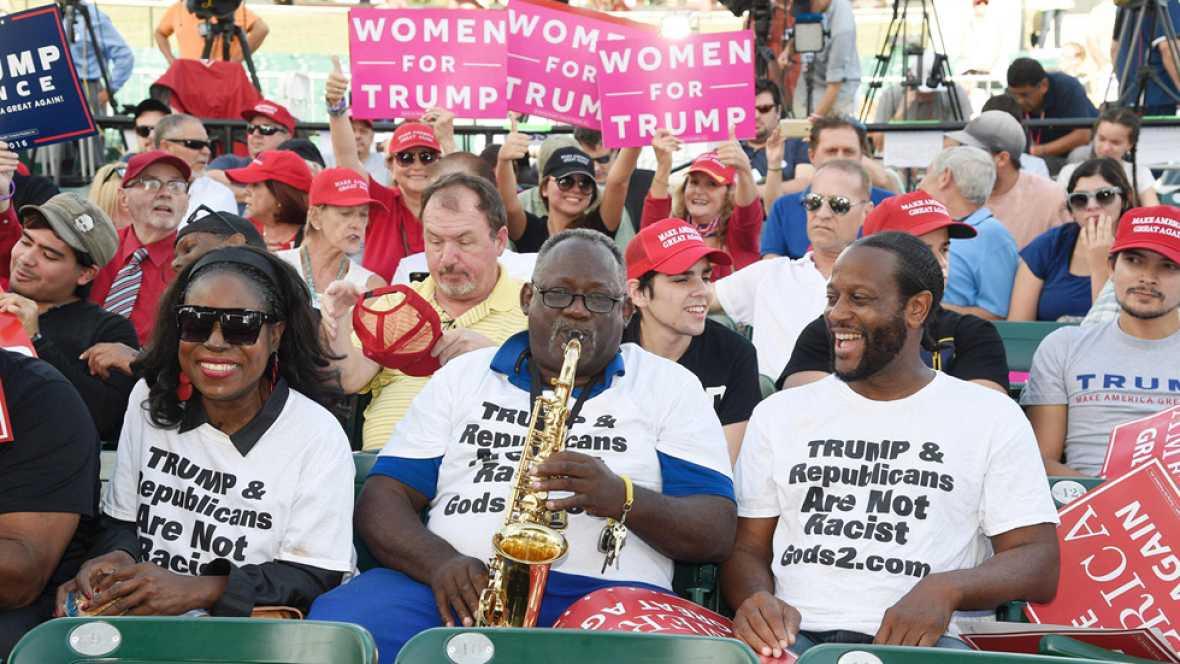 El voto negro y el de las minorías en Estados Unidos, últimas batallas antes de la votación final