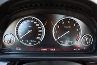 2013 BMW ActiveHybrid 5 gauges