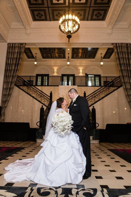 Glam Tulsa Wedding at The Mayo Hotel   Sarah   Kyle