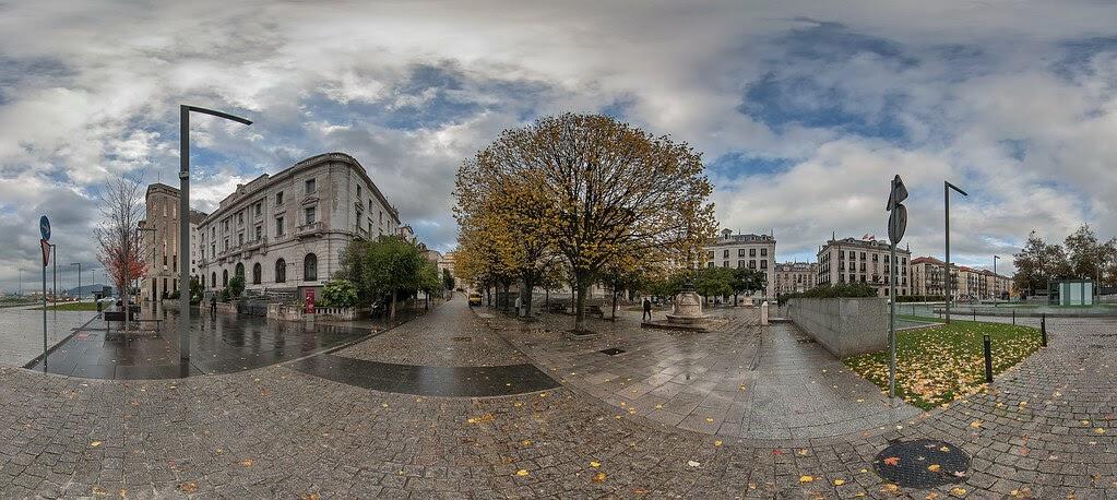 Santander plaza de alfonso xiii for Oficina de correos santander