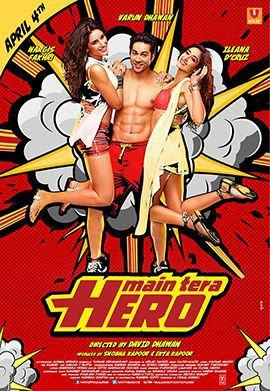 Main tera Hero (2014) 720p BluRay Hindi Full Movie